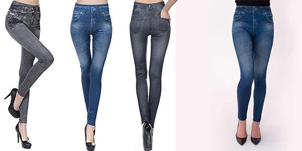 slim jeans leggings dimagrante e modellante
