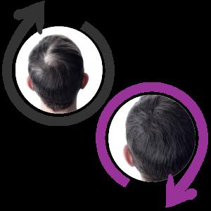 capelli folti e sani